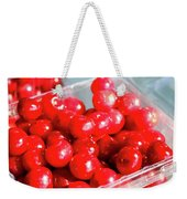 Red Cherries Weekender Tote Bag