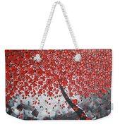 Red Cherry Tree Weekender Tote Bag