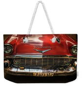 Red Chevrolet Weekender Tote Bag