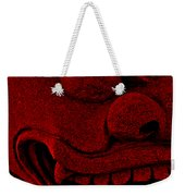 Red Chinese Dragon Weekender Tote Bag