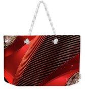 Red Classic Car Details Weekender Tote Bag