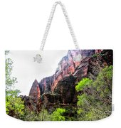Red Cliffs Zion National Park Utah Usa Weekender Tote Bag