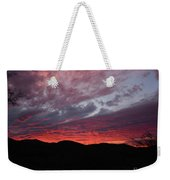 Red Cloud Sunset Weekender Tote Bag