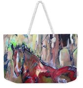 Red Colt Weekender Tote Bag