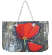 Red Couple  Weekender Tote Bag