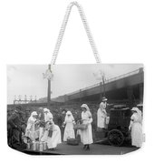 Red Cross: Canteen, C1918 Weekender Tote Bag