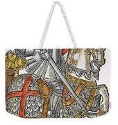 Red Cross Knight, 1598 Weekender Tote Bag