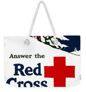 Red Cross Poster, C1915 Weekender Tote Bag