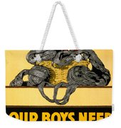 Red Cross Poster, C1917 Weekender Tote Bag