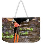 Red-crowned Crane Weekender Tote Bag