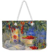 Red Currants Weekender Tote Bag