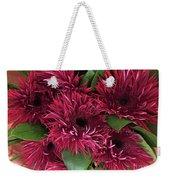 Red Daisies Bouquet Weekender Tote Bag