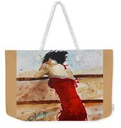 Red Dancer Weekender Tote Bag