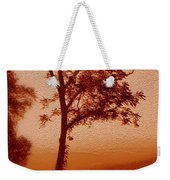Red Dawn Weekender Tote Bag