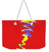 Red Day Weekender Tote Bag