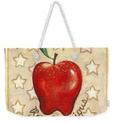 Red Delicious Two Weekender Tote Bag
