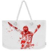 Red Devil Weekender Tote Bag