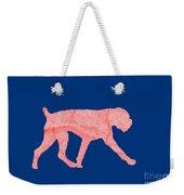 Red Dog Tee Weekender Tote Bag