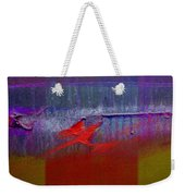 Red Dragon Autumn Weekender Tote Bag