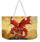 Red Dragon's Treasure Chest Weekender Tote Bag