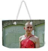 Red Dress Run - Nola 7 Weekender Tote Bag