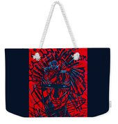 Red Exotica Weekender Tote Bag