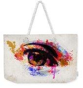 Red Eye Watercolor Weekender Tote Bag