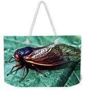 Red Eyed Cicada Weekender Tote Bag