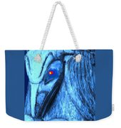 Red Eyed Raven Weekender Tote Bag