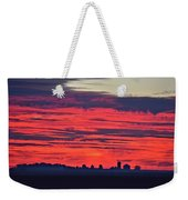 Red Farm Sunrise Weekender Tote Bag