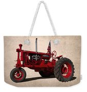 Red Farmall Tractor Weekender Tote Bag