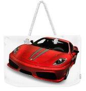 Red Ferrari F430 Scuderia Weekender Tote Bag