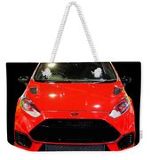 Red Fiesta Mk7.5 Weekender Tote Bag