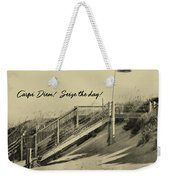 Red Flag Day Quote Weekender Tote Bag