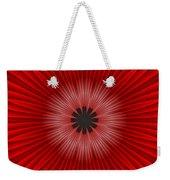 Red Floral Weekender Tote Bag