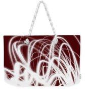 Red Flow2 Weekender Tote Bag
