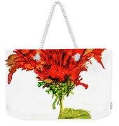 Red Flower 2 Weekender Tote Bag