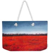 Red Flowering - Poppies Weekender Tote Bag