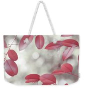 Red Foliage. Silver Light Weekender Tote Bag