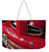 Red Ford Truck Weekender Tote Bag