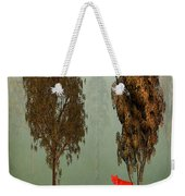 Red Fox Forest Weekender Tote Bag