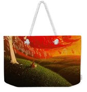Red Fox..peaceful Weekender Tote Bag