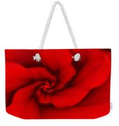 Red Fractal 080910 Weekender Tote Bag
