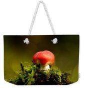 Red Fungus Weekender Tote Bag