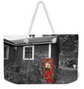 Red Gas Pump Weekender Tote Bag