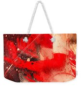 Red Gloves Weekender Tote Bag by Svetlana Sewell