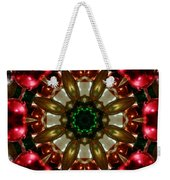 Red Gold Green Kaleidoscope 1 Weekender Tote Bag