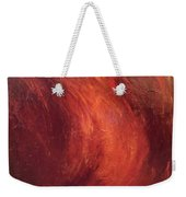 Red-gold Weekender Tote Bag