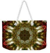 Red Gold Kaleidoscope 1 Weekender Tote Bag
