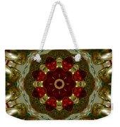 Red Gold Kaleidoscope 2 Weekender Tote Bag